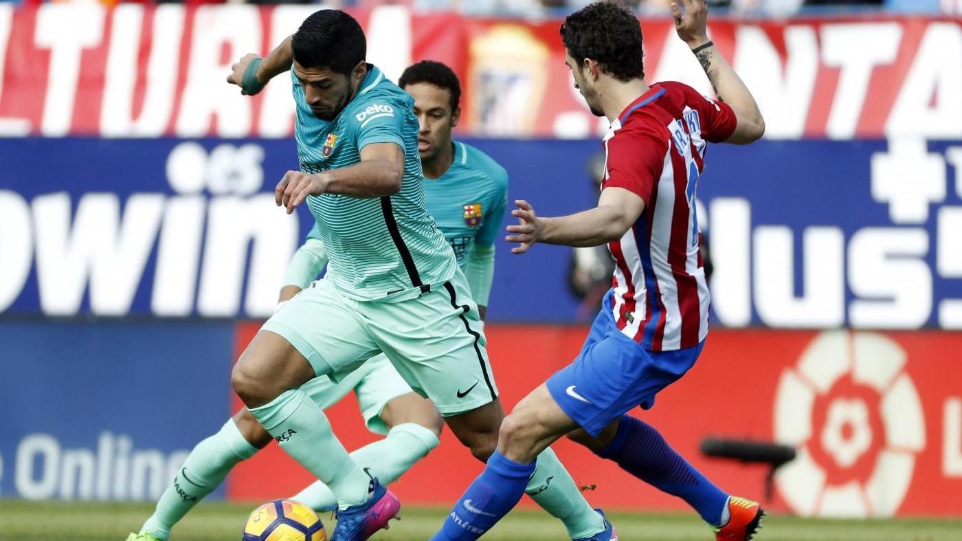 Liga, colpo Barça al Calderòn: Messi affonda l'Atletico