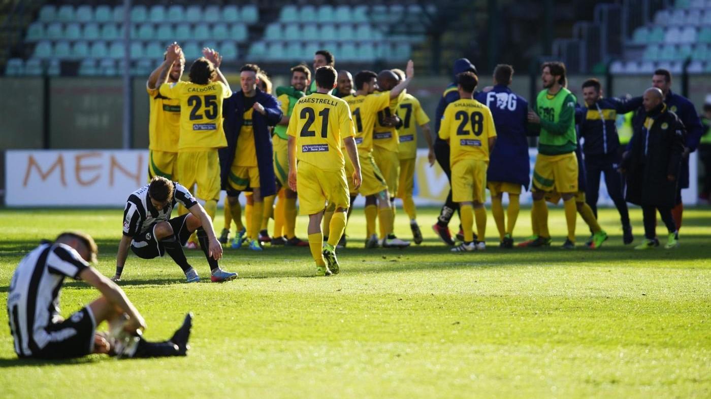 FOTO Lega Pro, Robur Siena sconfitta da Racing Roma 1-2