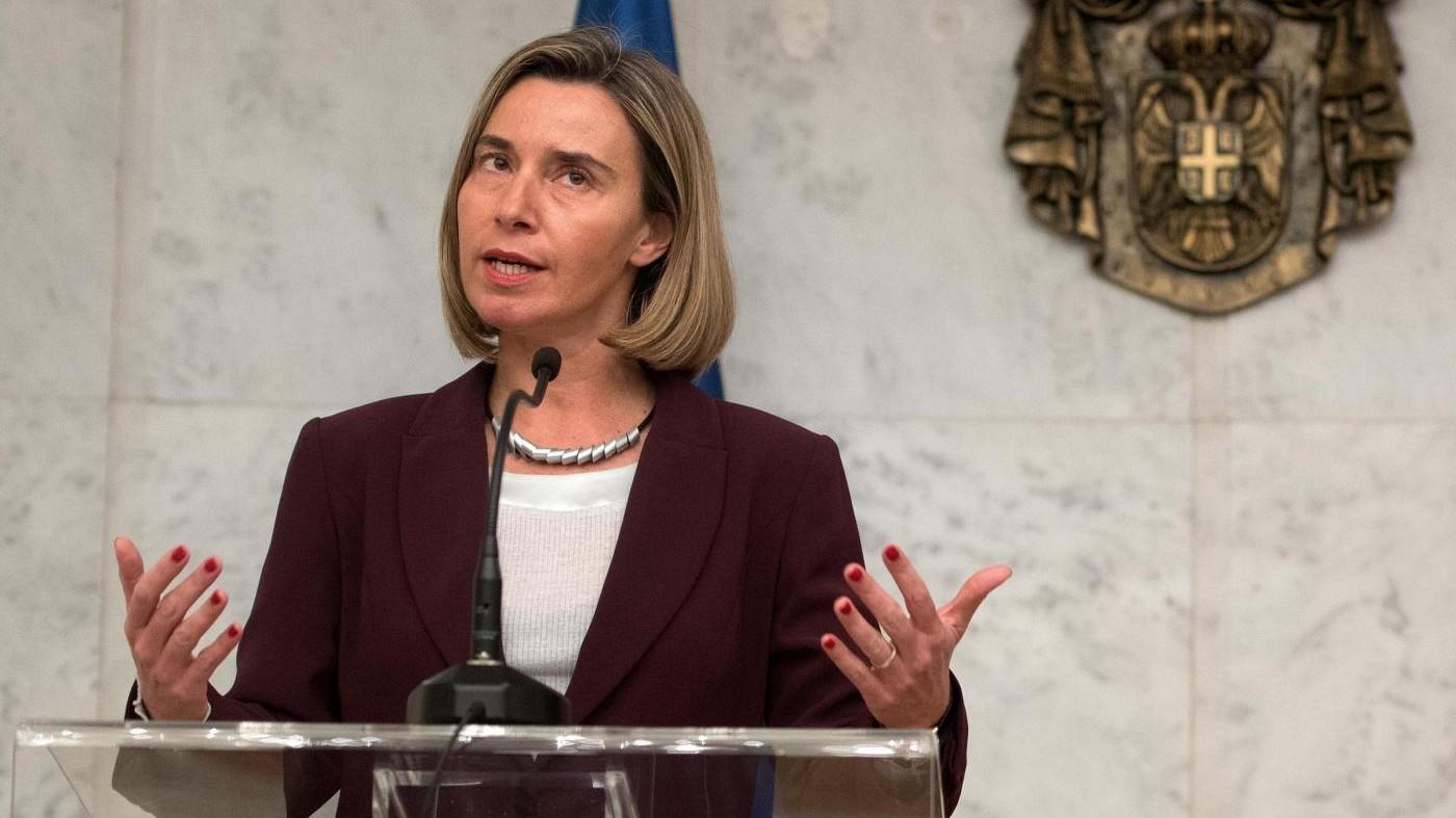 Corea del Nord, Mogherini: Missili grave minaccia, serve difesa Ue