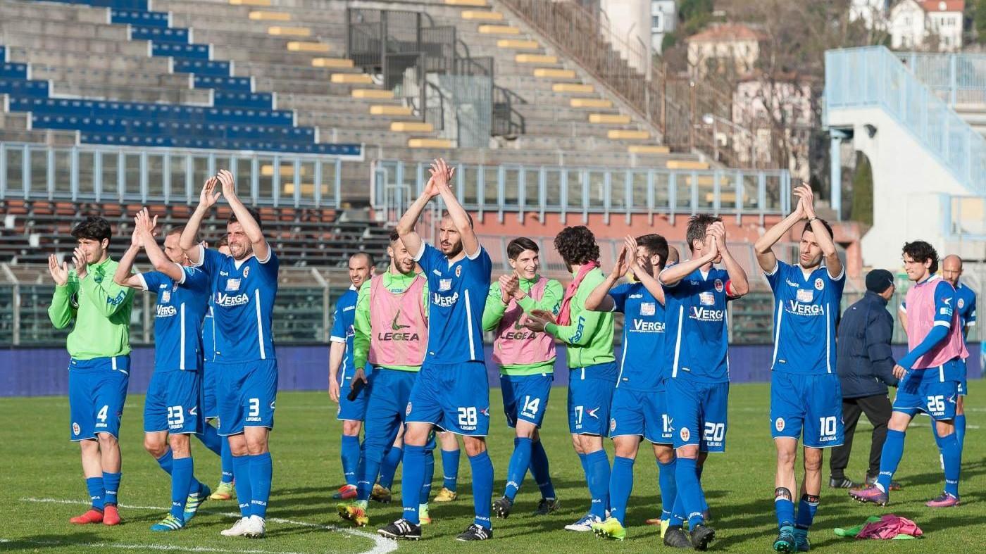 FOTO Lega Pro, Como batte Pistoiese 1-0