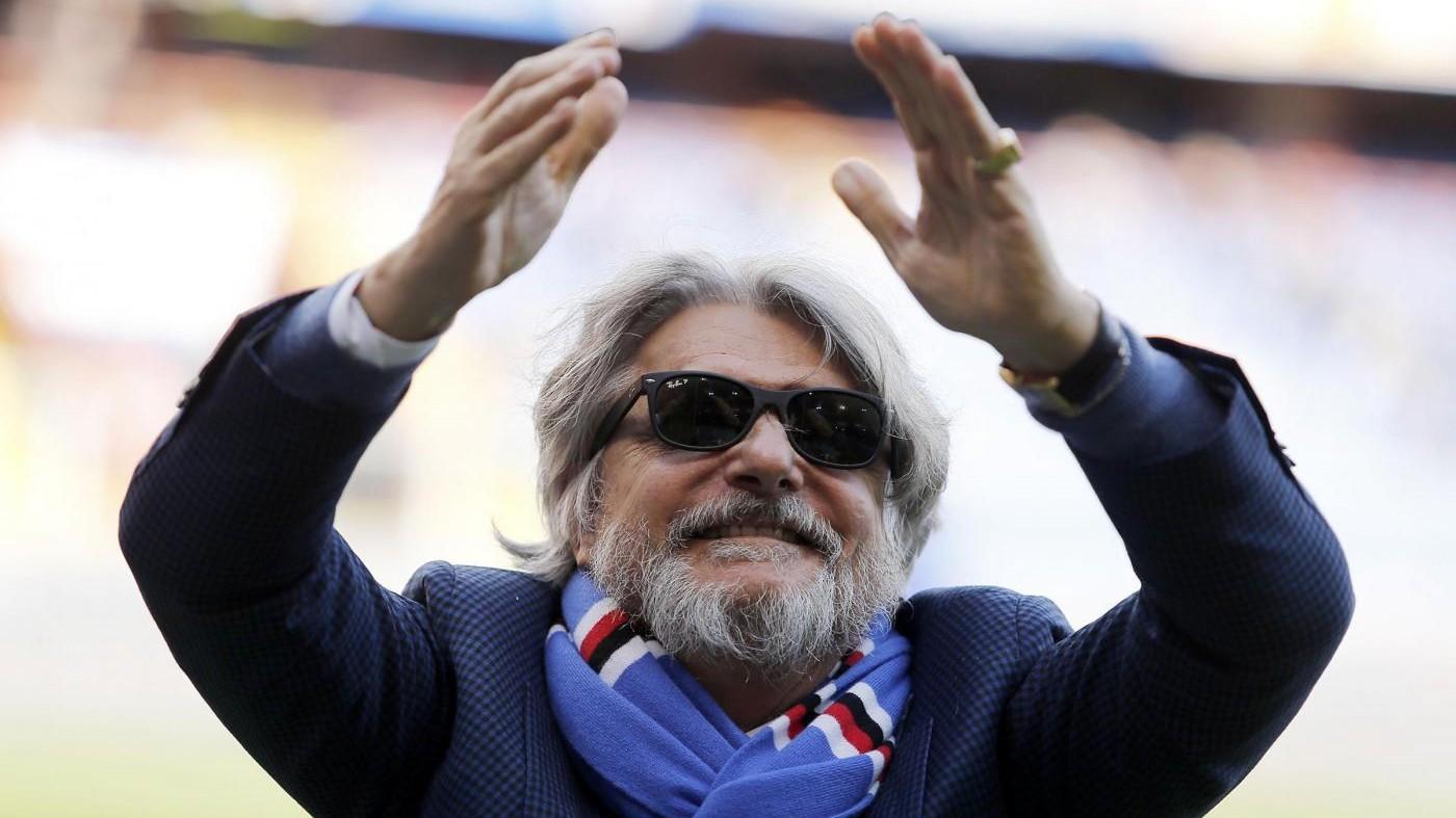 Sampdoria, Ferrero: Nel derby con testa, gamba ed orgoglio