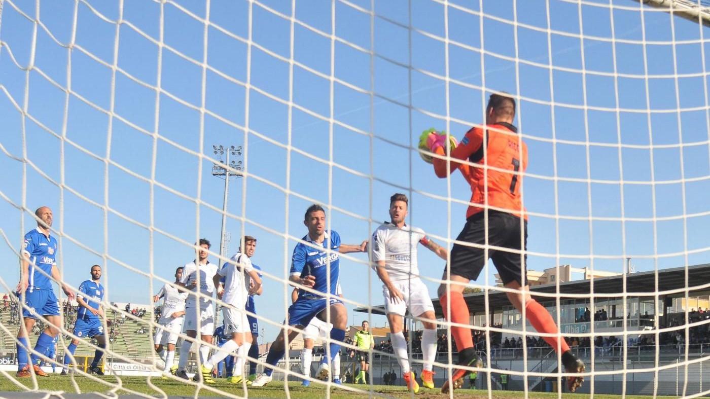 FOTO Lega Pro, Olbia-Como finisce 1-1