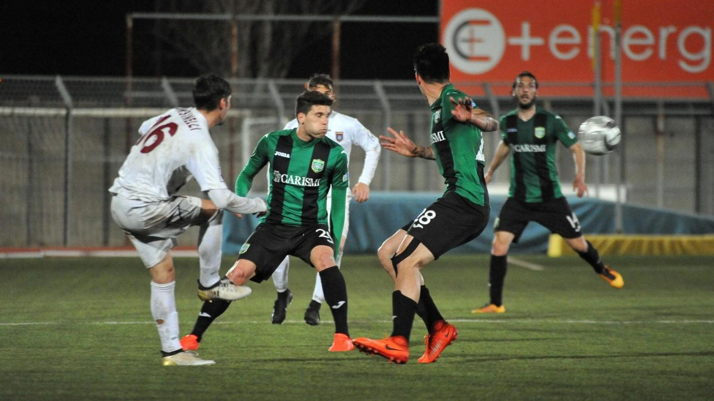FOTO Lega Pro, Tuttocuoio – Pontedera 0-0
