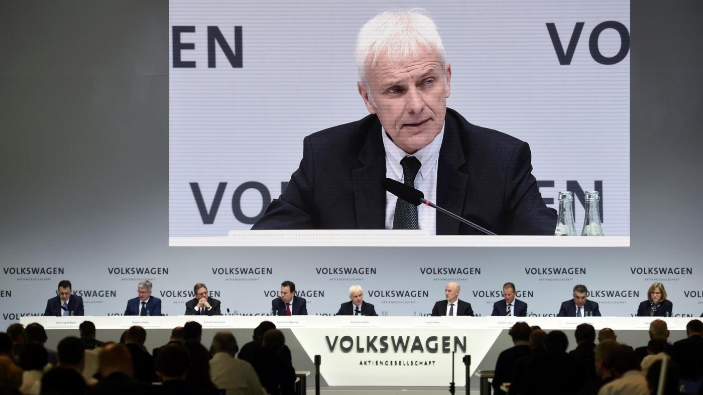 Volkswagen non esclude colloquio con Marchionne su fusione
