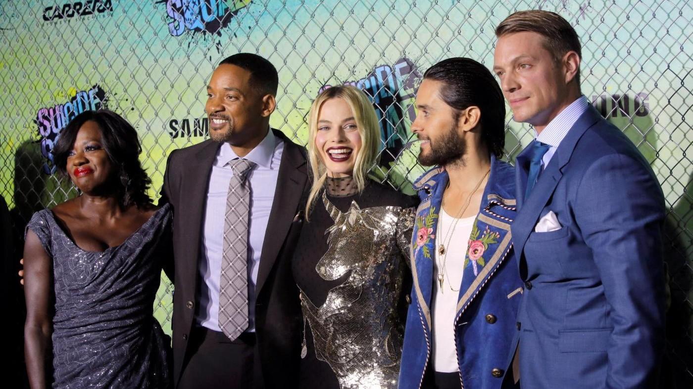 FOTO Will Smith e Cara Delevingne alla prima di 'Suicide Squad'