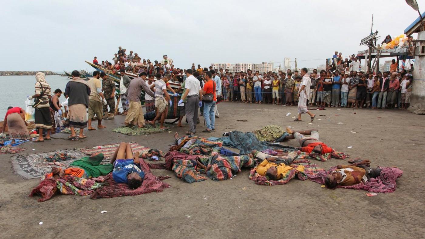 Yemen, elicottero attacca barca migranti: uccisi 31 rifugiati somali