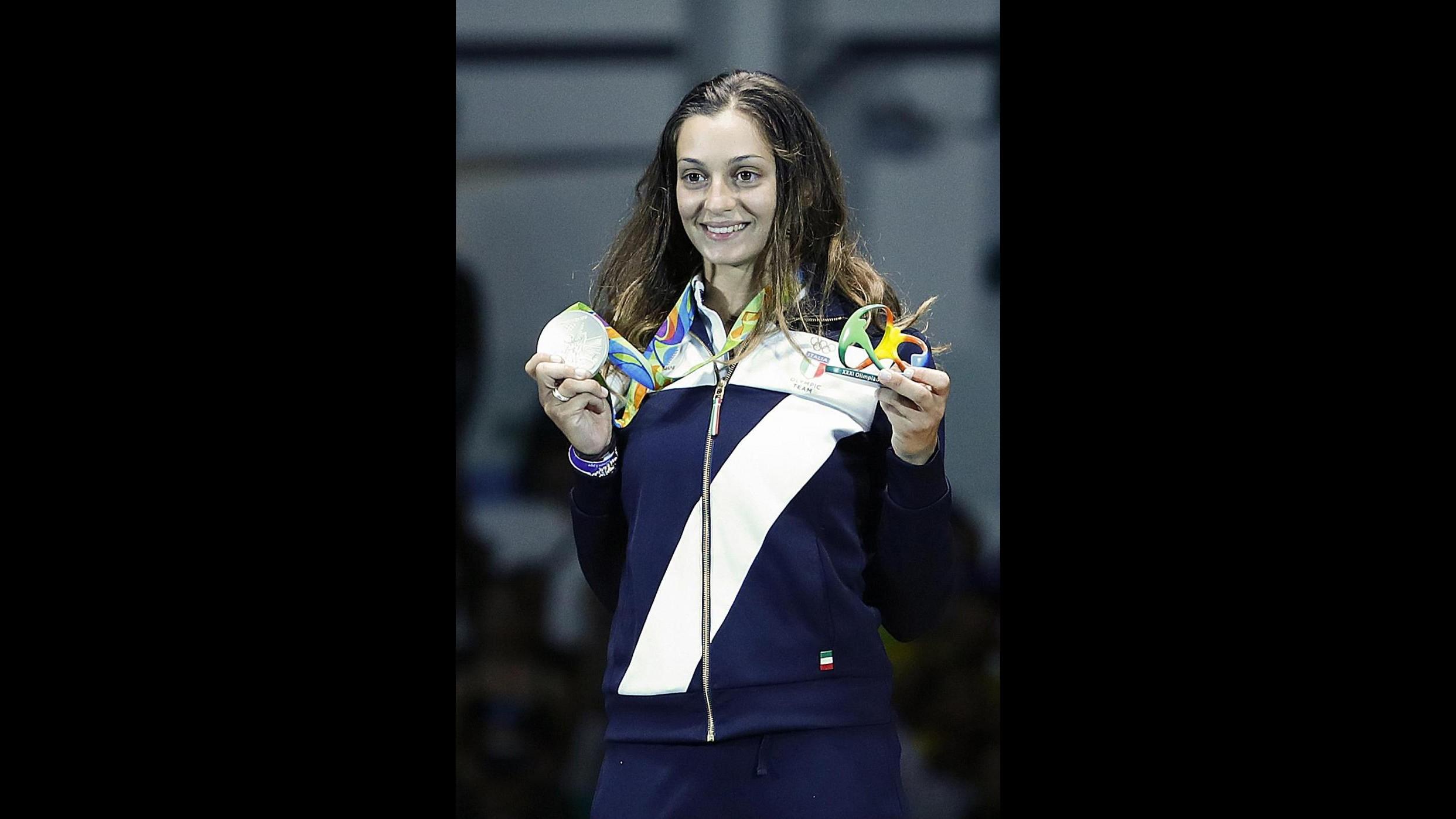FOTO Rio 2016, nella spada femminile prima medaglia Italia