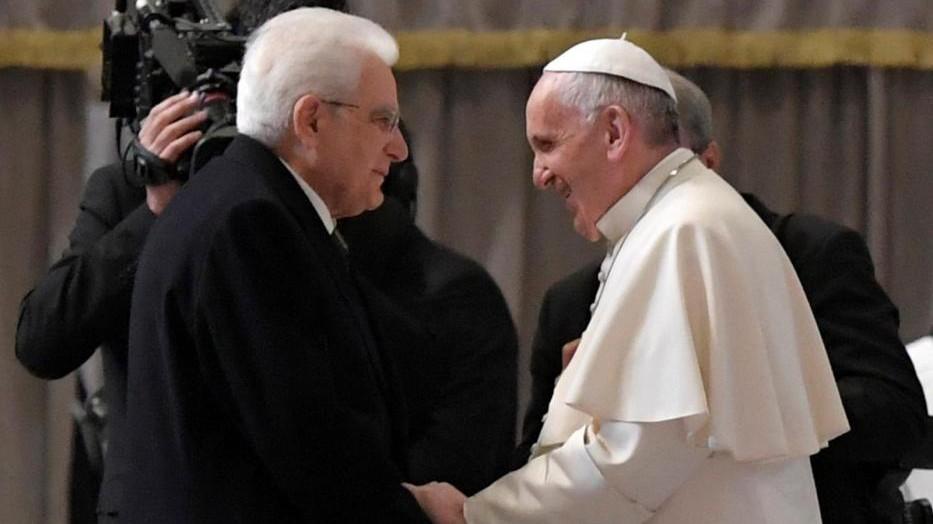 Mattarella al Papa: Non ci rassegniamo a violenza