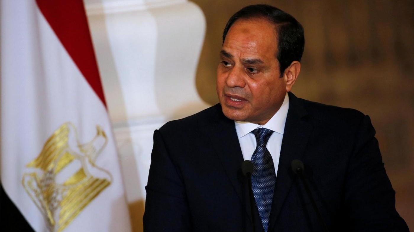 Il presidente egiziano al-Sisi sarà alla Casa Bianca il 3 aprile