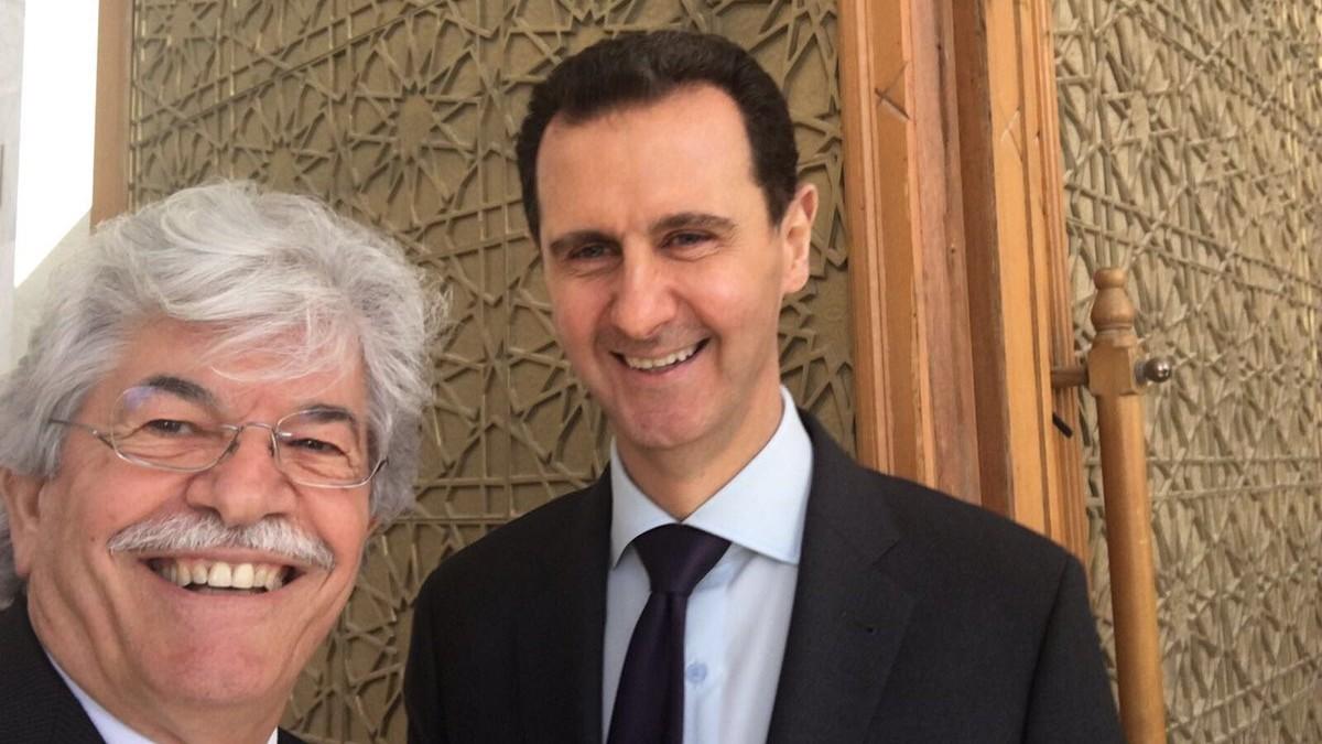 Antonio Razzi è in Siria e si scatta un selfie con Assad