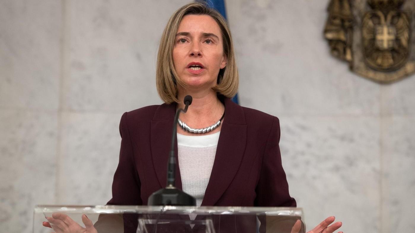 Mogherini: Se coordiniamo l'intelligence batteremo l'Isis