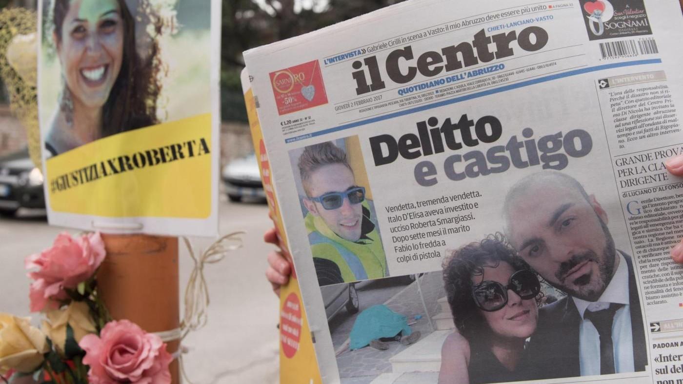 Vasto, 30 anni a Fabio Di Lello: uccise uomo che investì la moglie