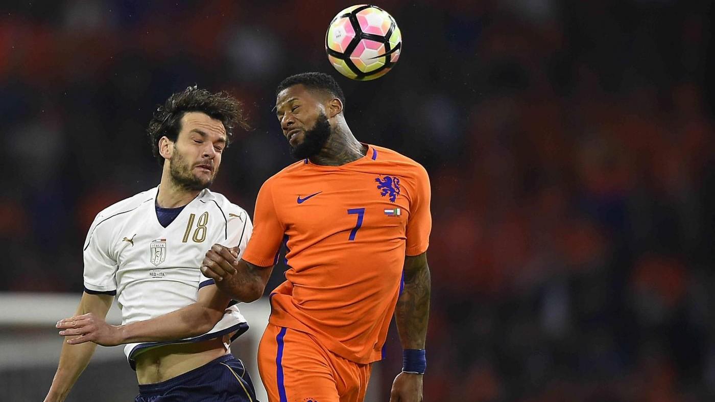 Amichevole Olanda-Italia 1-2: decide Bonucci