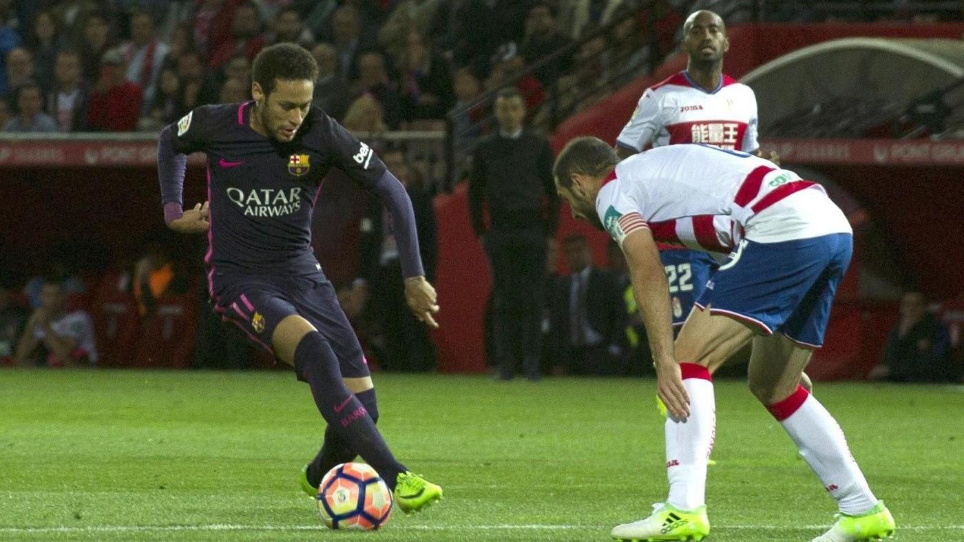 Liga: Granada-Barcellona 1-4, blaugrana a -2 dal Real