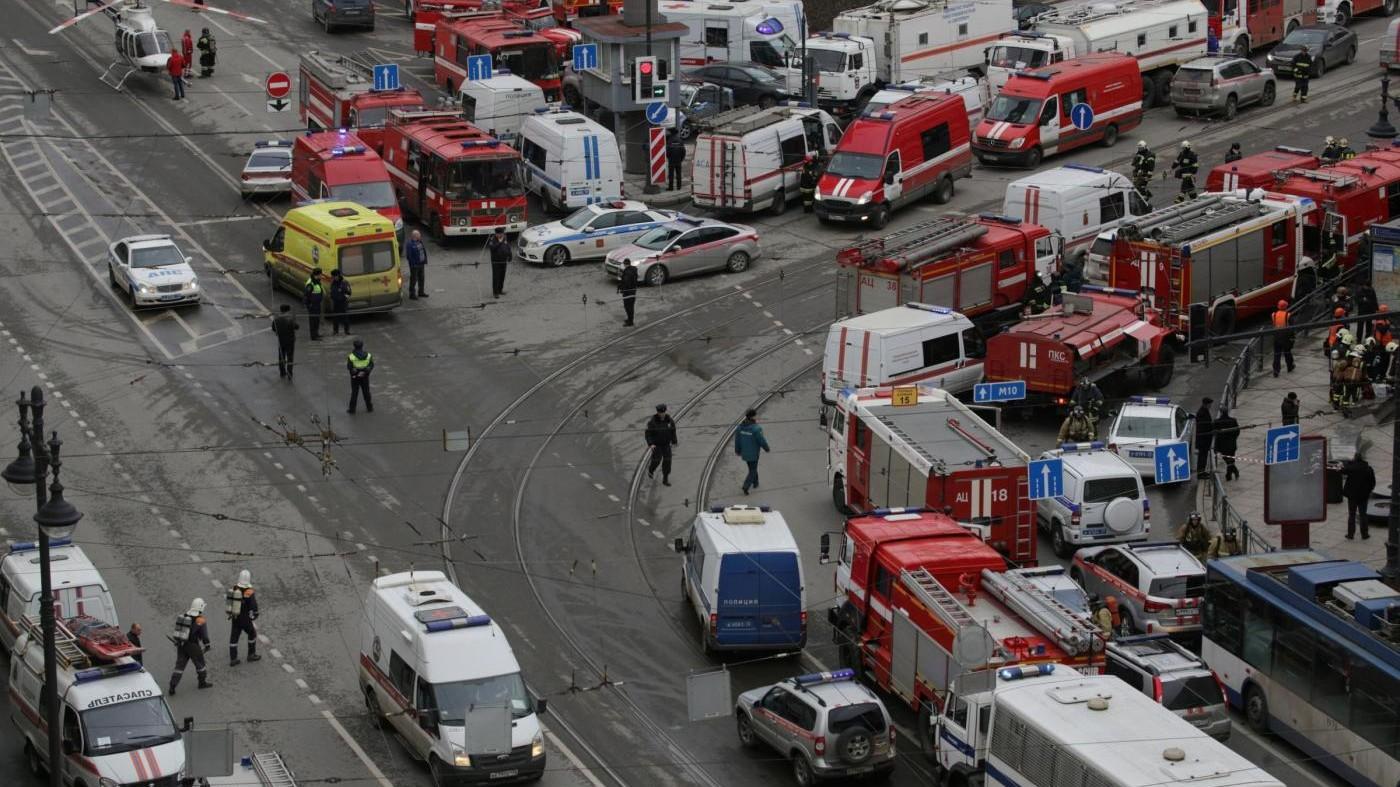 San Pietroburgo, trovata testa di kamikaze vicino a luogo esplosione