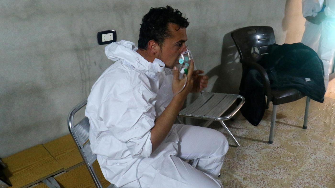 Attacco in Siria, Save the Children: Sintomi coerenti con gas nervini