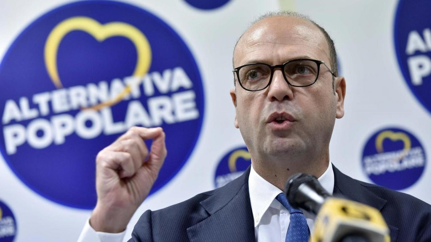 Alfano: Torrisi non si dimette? Non rappresenta più Ap