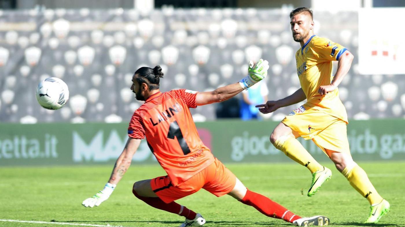 Serie B, il Frosinone frena: solo 1-1 con l'Ascoli