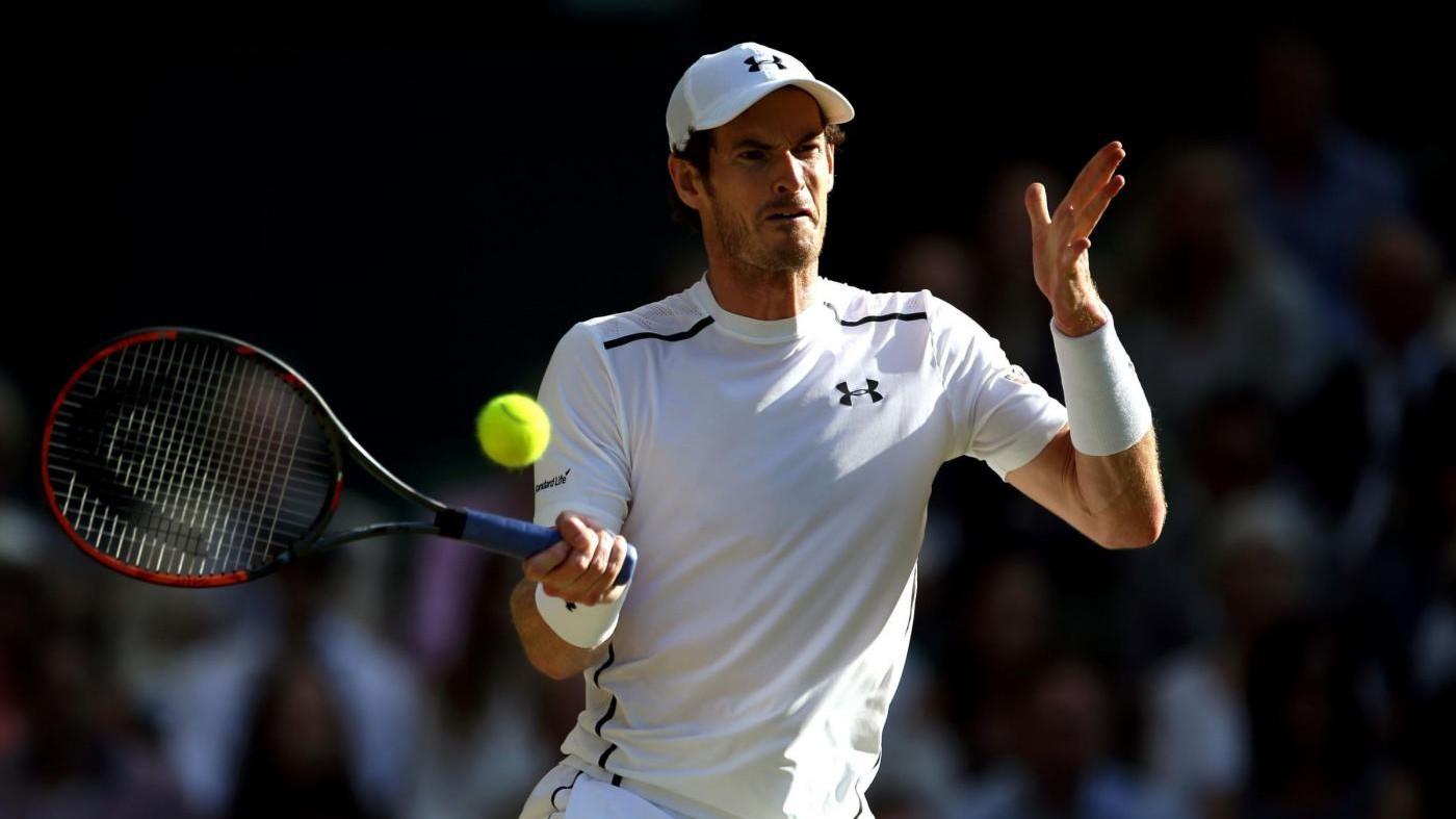 Ranking Atp, Murray resta leader. Fognini stabile al numero 28