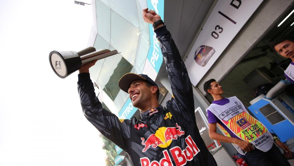 Quarta vittoria in carriera per Ricciardo ©LaPresse/Photo4