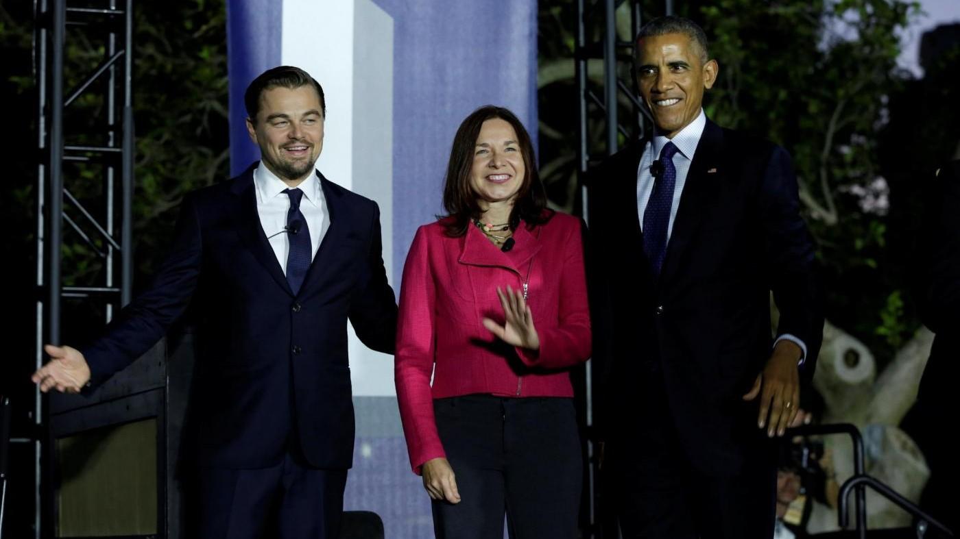 Obama e DiCaprio insieme contro surriscaldamento del pianeta