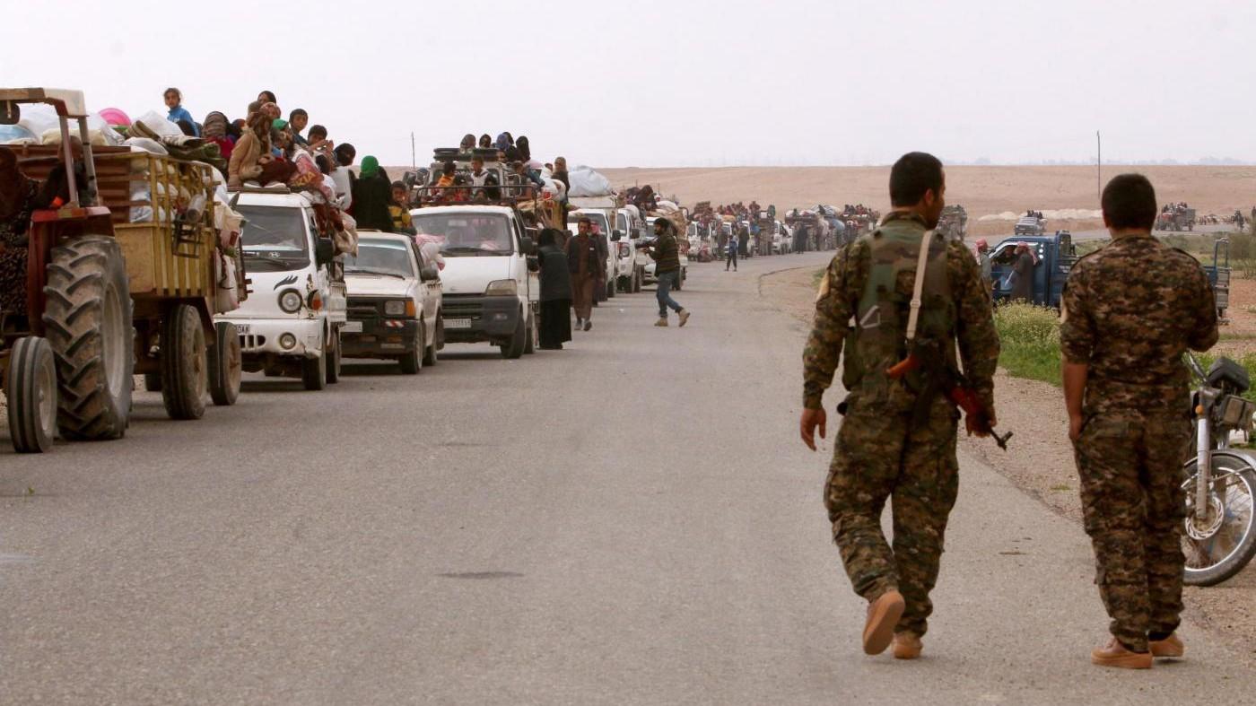 Siria, al via evacuazione di quattro città assediate