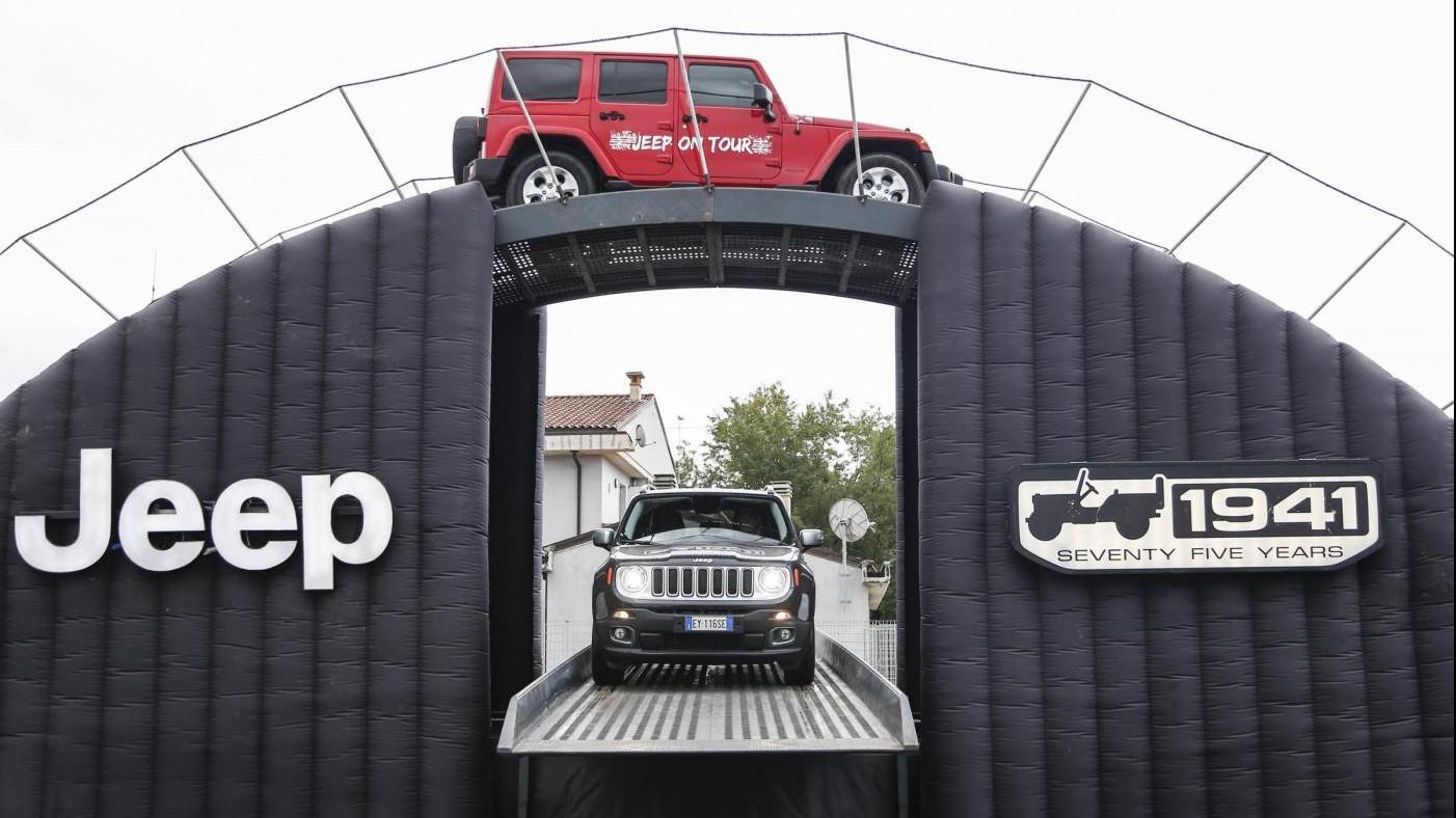 FOTO Jeep, il vero protagonista del '4×4 Fest' di Carrara