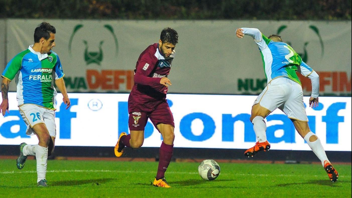 FOTO Lega Pro, Feralpisalò-Fano termina 0-0