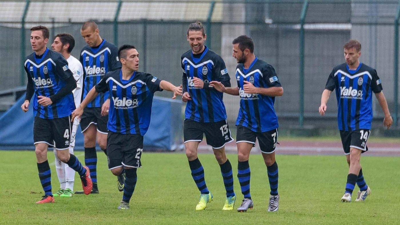 FOTO Lega Pro, Renate travolge Pontedera 3-0
