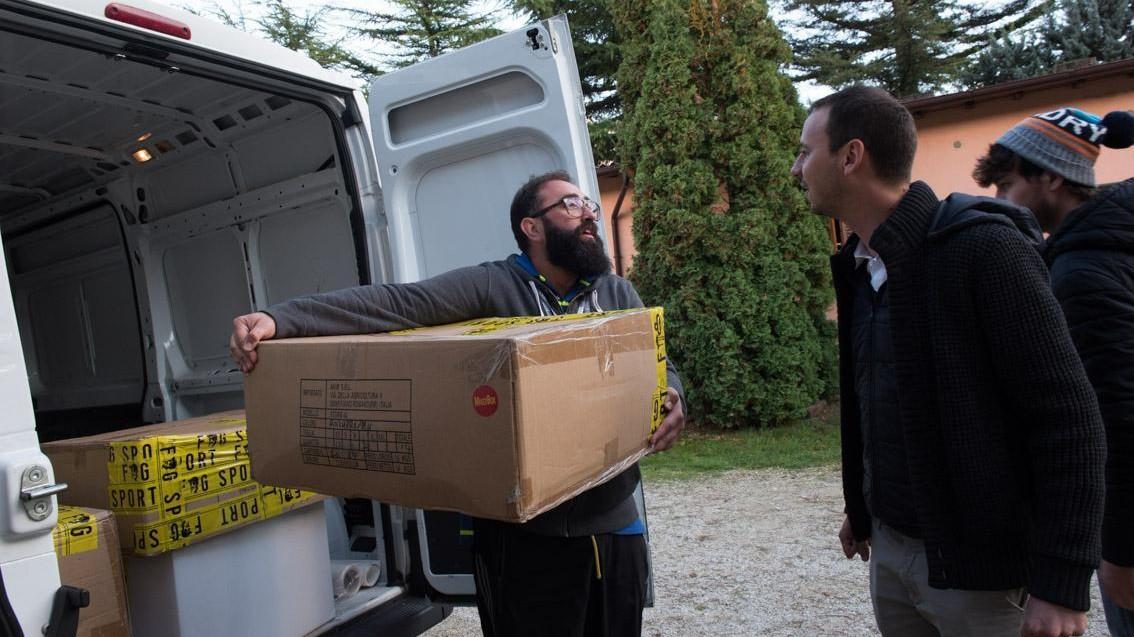 """FOTO Terremoto, l'imprenditore fonda """"I love Norcia"""""""