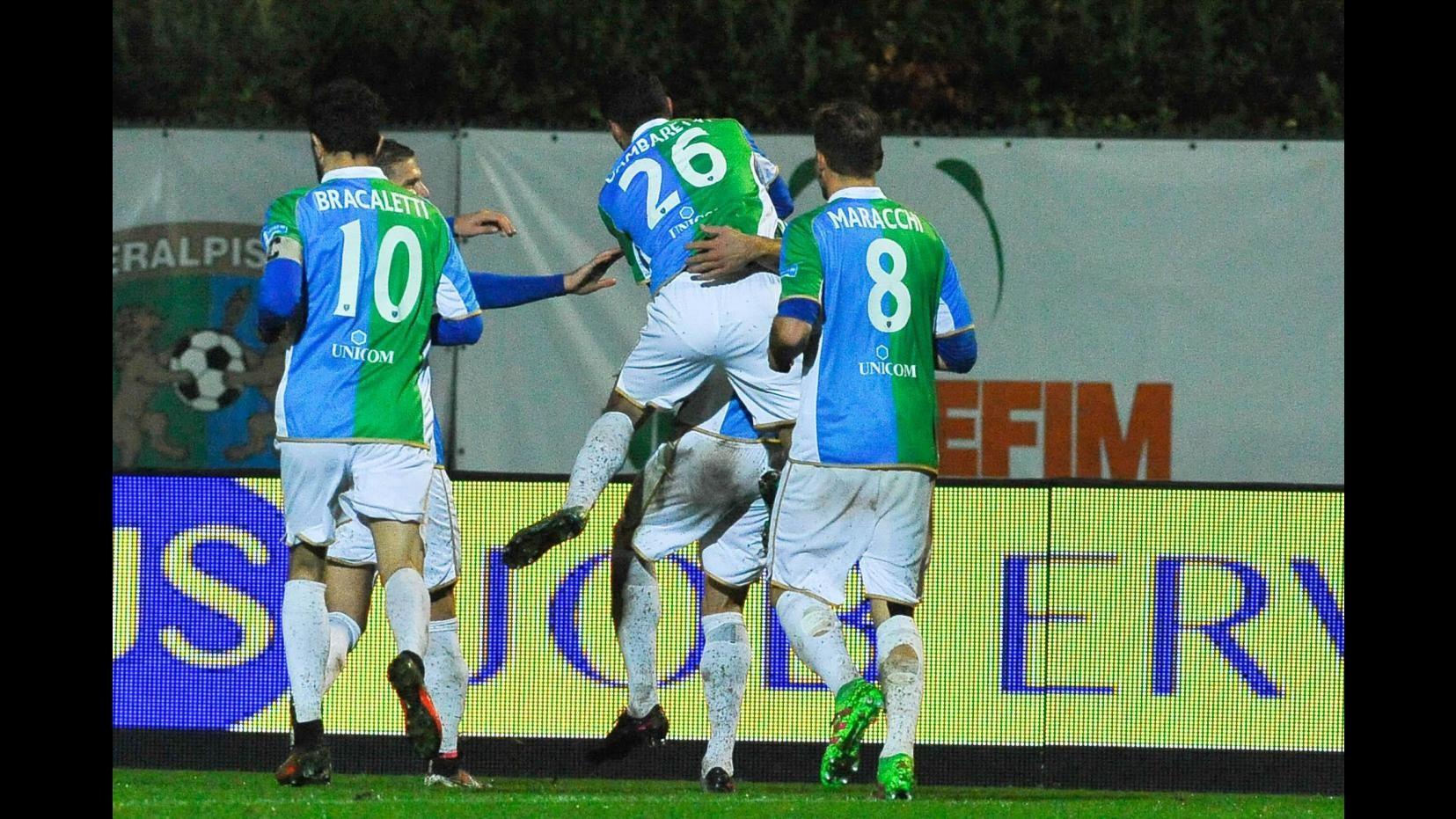 FOTO Lega Pro, FeralpiSalò-Maceratese finisce 2-0