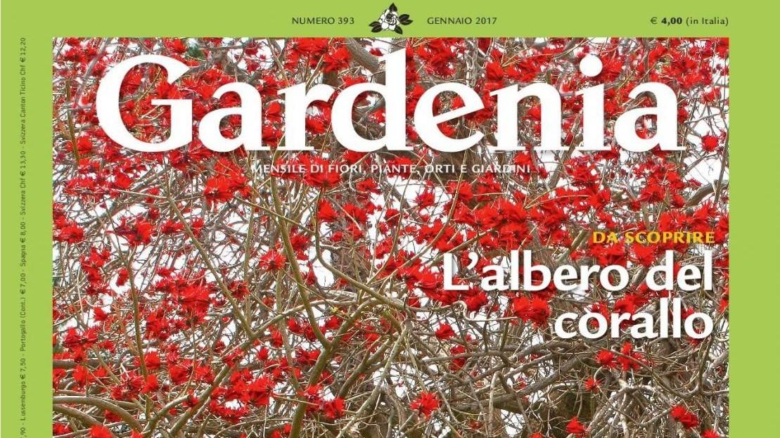 Il 29 dicembre nuovo numero di 'Gardenia' con l'agenda 2017