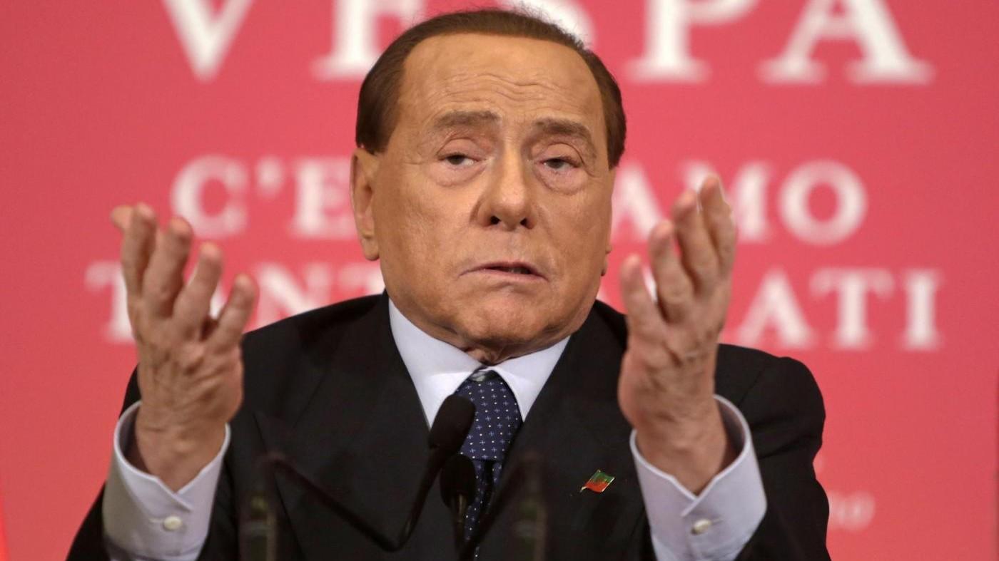 Mediaset, Berlusconi: Un ricatto da Vivendi, ma noi resisteremo