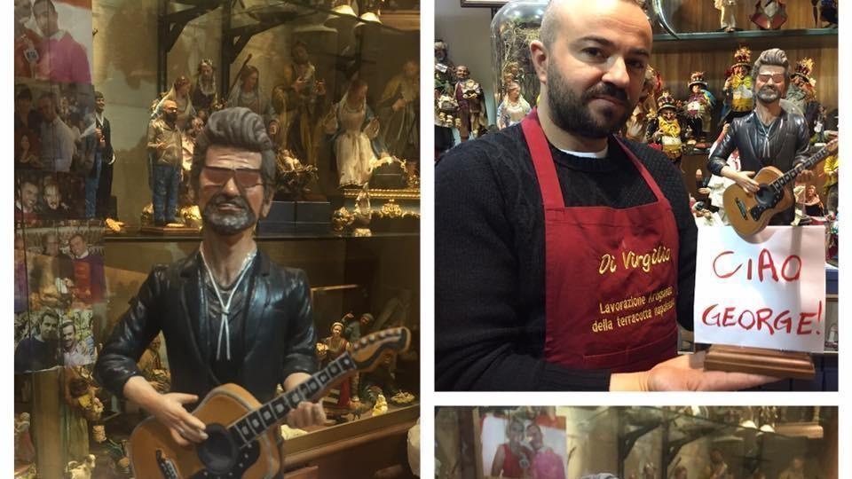 George Michael, la star già nel presepe di San Gregorio Armeno