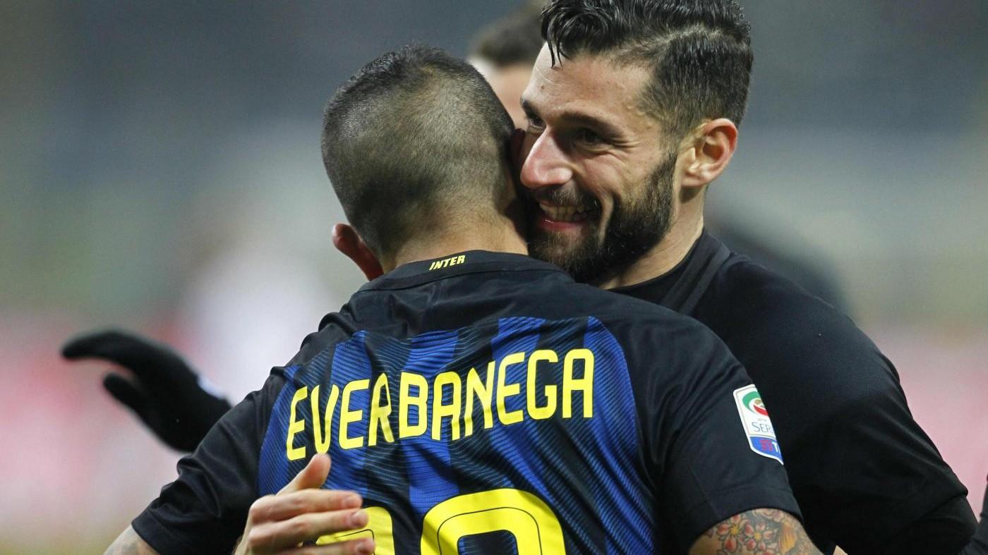 Inter, Candreva: Abbiamo voltato pagina, obiettivo è la Champions