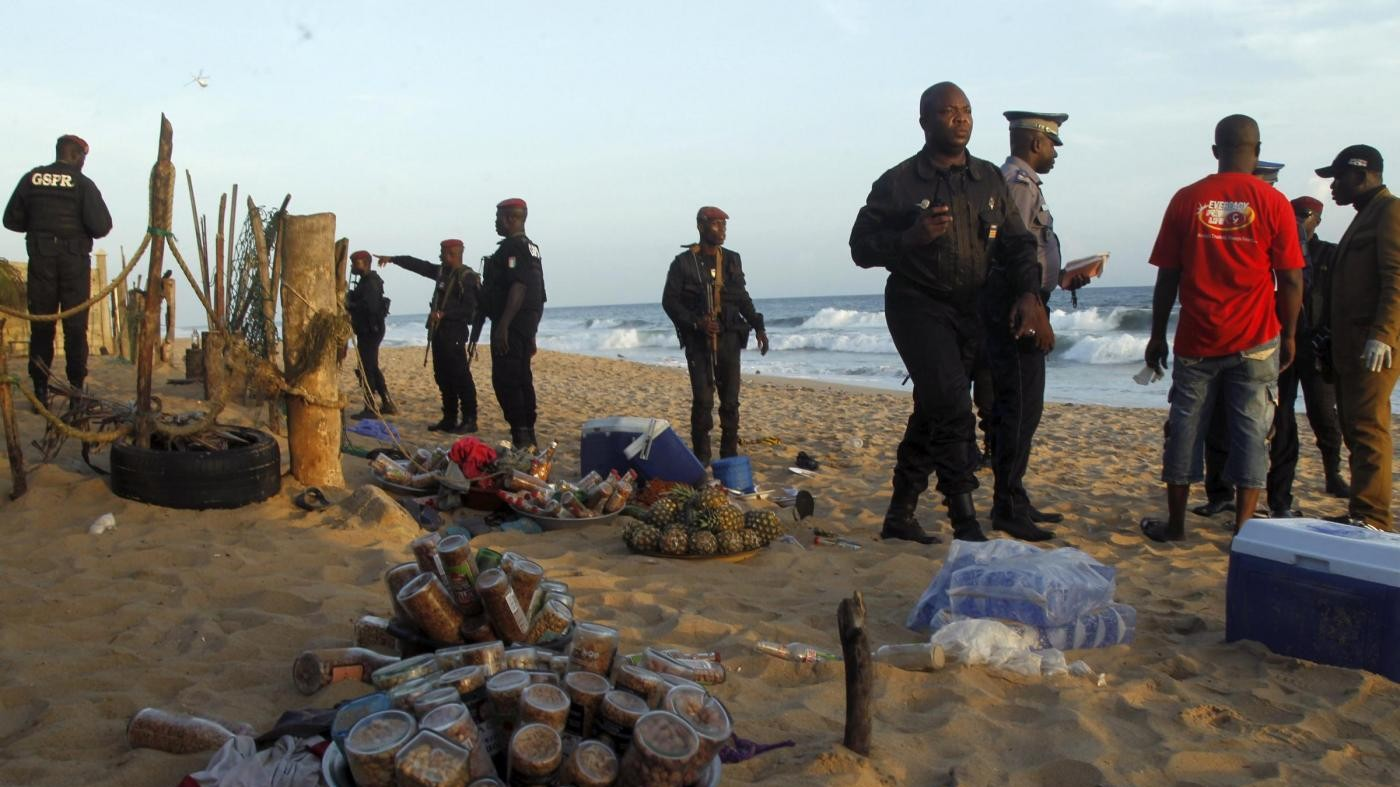 Costa d'Avorio, attacco a resort a Grand Bassam