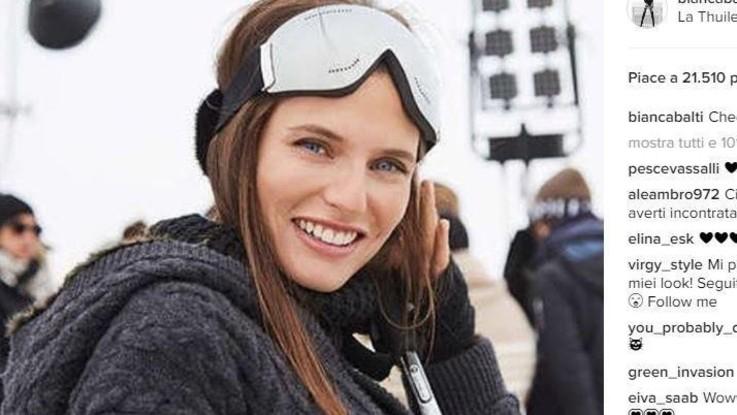 Modelle sulla neve, dalle sorelle Bella e Gigi Hadid a Bianca Balti