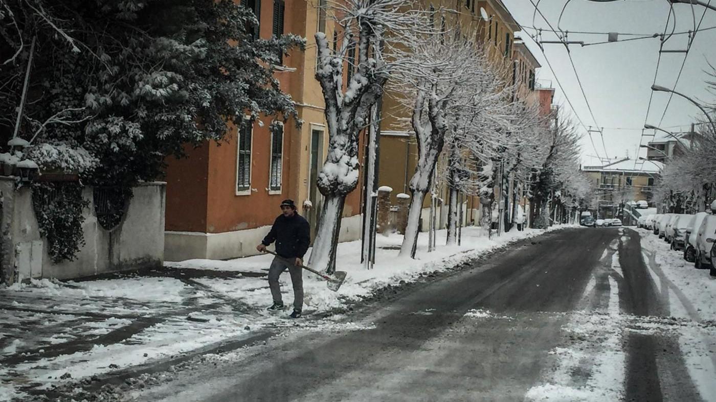 Gelo e neve sull'Italia, in vista un'Epifania sotto zero