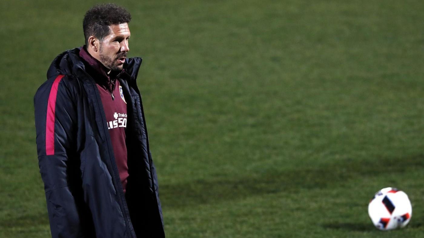 Simeone resta all'Atletico: Sostenetemi o sopportatemi