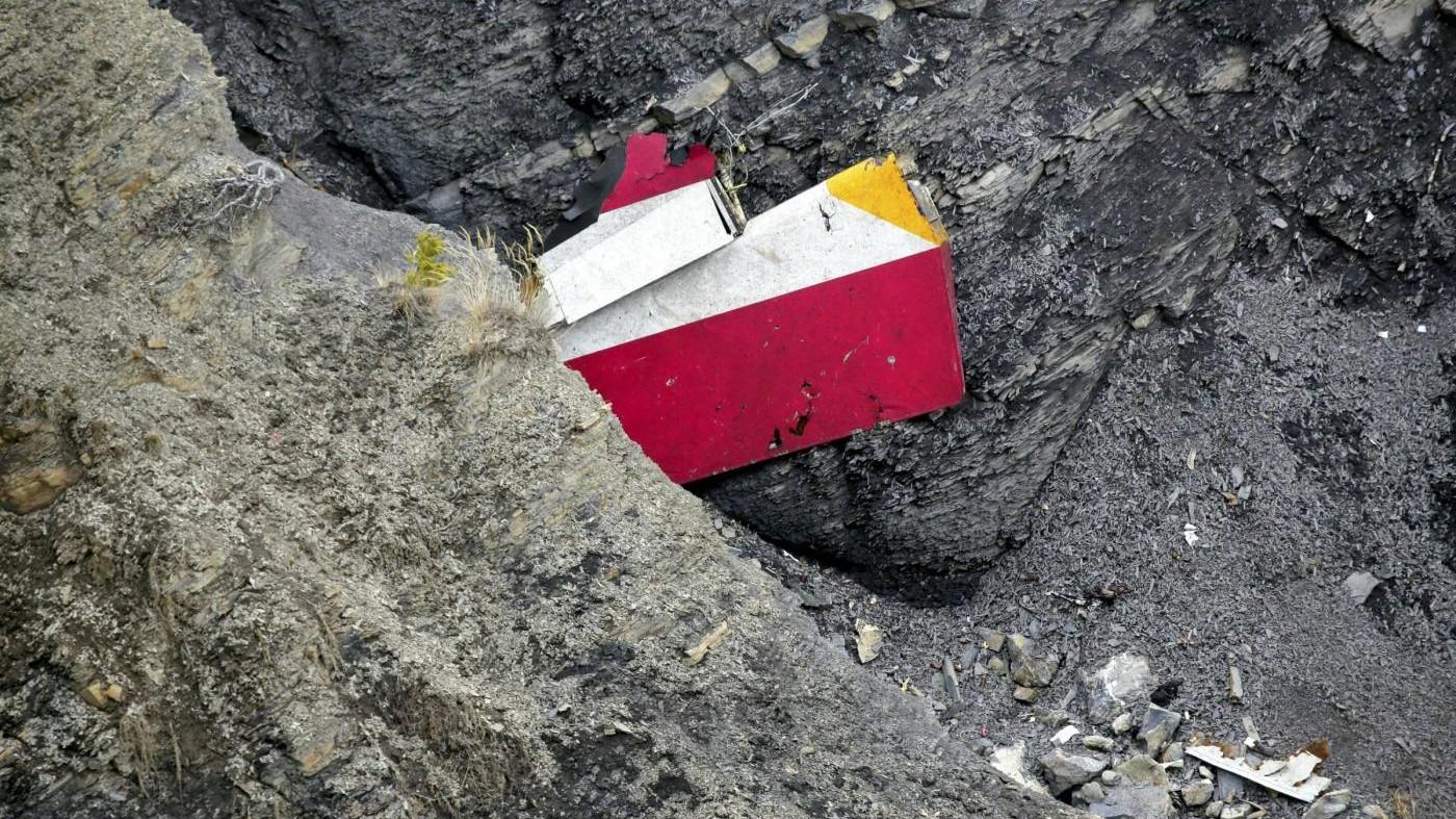 Un anno fa lo schianto dell'Airbus Germanwings sulle Alpi francesi