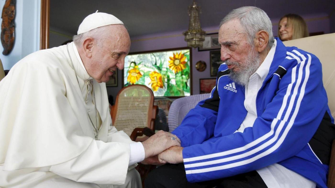 Morte Castro, Papa: Triste notizia, prego per popolo cubano