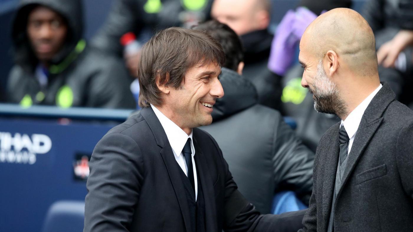 Premier League, Chelsea ribalta City: lezione di Conte a Guardiola