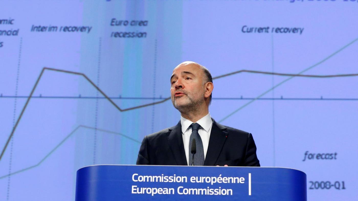 Referendum, Moscovici (Ue): Toccati da esito, ma l'Italia è solida.