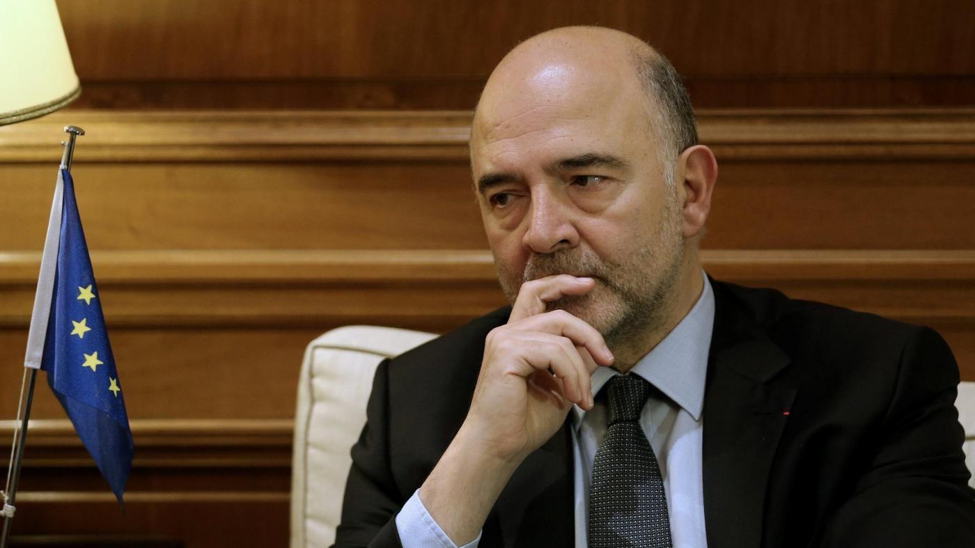 Moscovici: Europa non teme la crisi di governo italiana