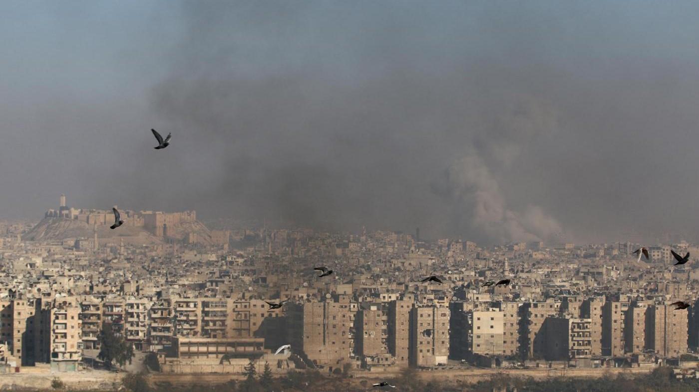 Siria, attivisti: Oltre mille morti ad Aleppo dal 15 novembre