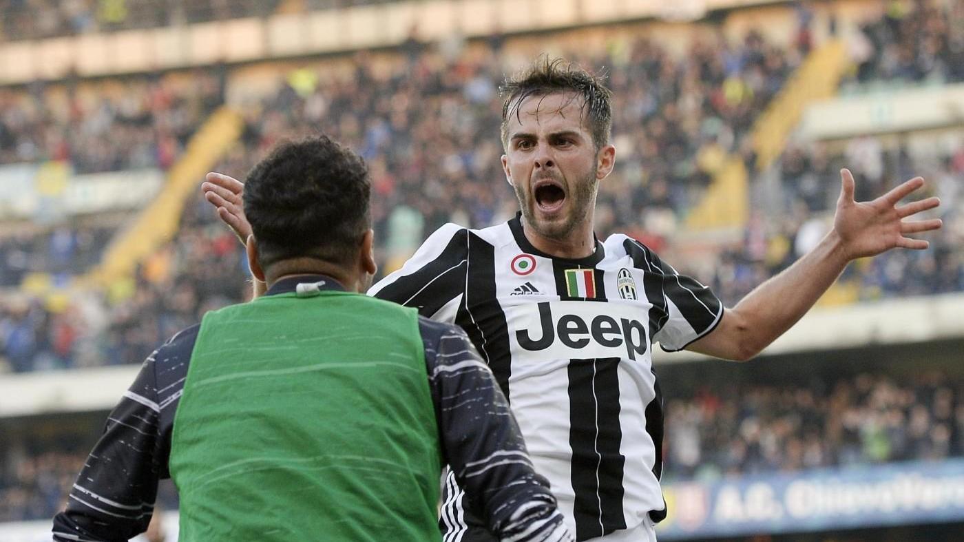 Juve supera Chievo 2-1: Allegri si aggrappa alla magia di Pjanic