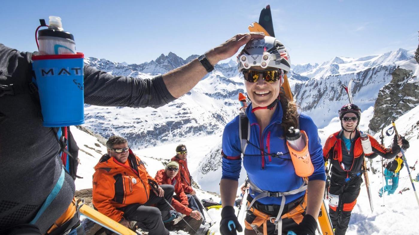 FOTO Pippa Middleton alla maratona dei ghiacci in Svizzera