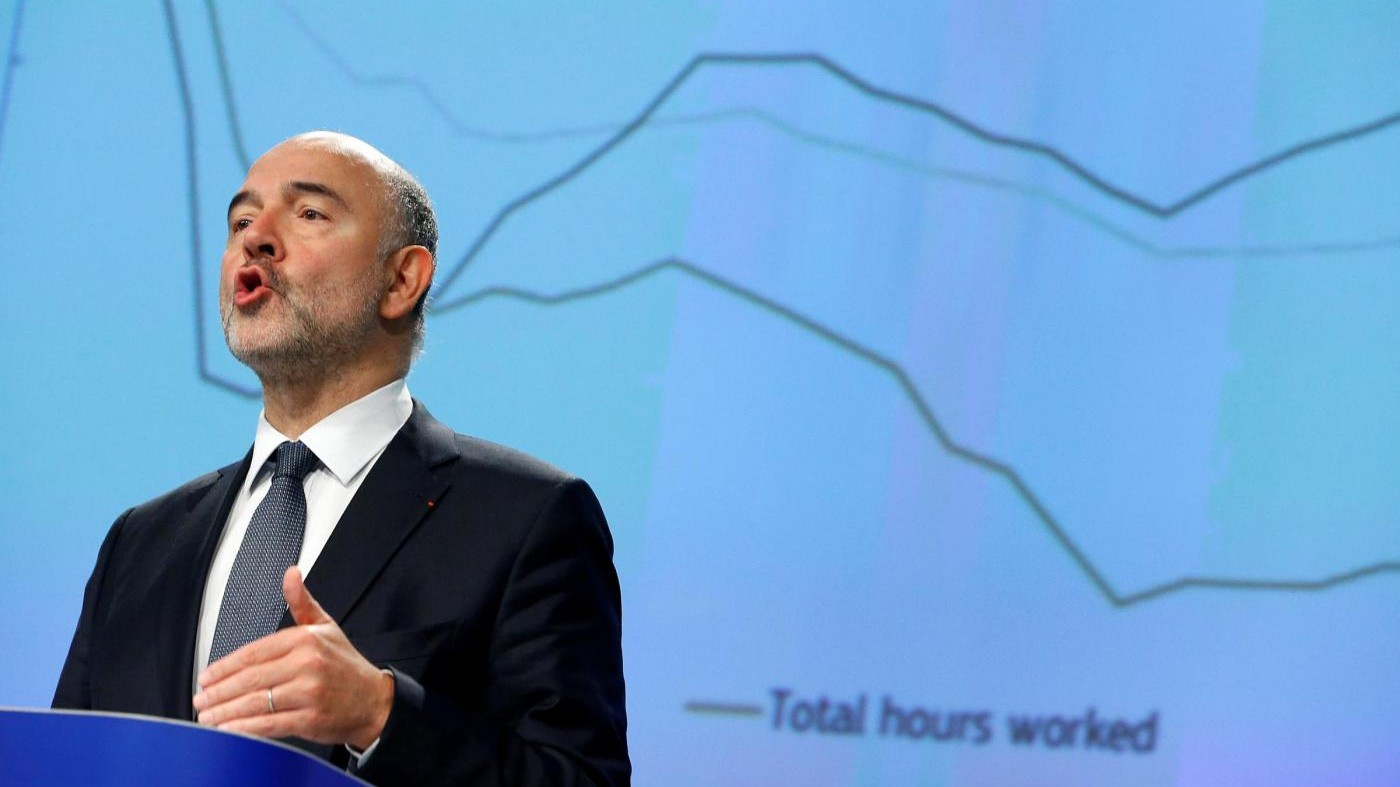 Referendum, Ue: Rischi al ribasso per l'Italia
