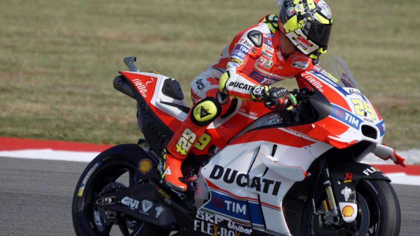 Iannone: A fine stagione mi è mancato il calore della Ducati