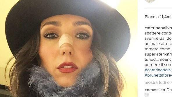 Paura per Caterina Balivo, su Instagram: Sono svenuta dal dolore